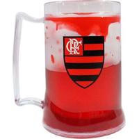 Caneca Gel Flamengo Escudo 400 Ml Gel - Unissex