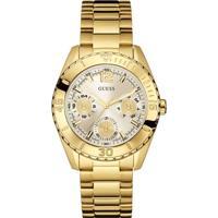 Relógio Guess Feminino Aço Dourado - W0633L1