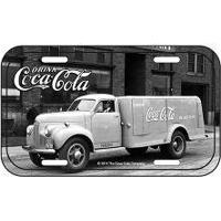 Placa De Metal Coca Cola Caminhão Grande Vintage