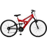 Bicicleta Master Bike Aro 26 Masculina Kanguru Style 21 Marchas Vermelho