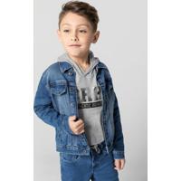 Jaqueta Azul Jeans Tradicional
