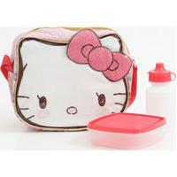 Lancheira Escolar Infantil Estampa Hello Kitty Xeryus