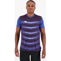 Camisa Kappa Force Royal - Masculino-Azul