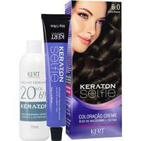 Keraton Selfie 6.0 Louro Escuro 125G - Unissex-Incolor