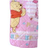 Edredom Minasrey Pooh Rosa