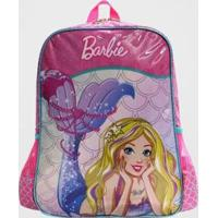 Mochila Barbie Sereia Infantil Luxcel Feminina - Feminino