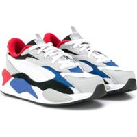 Puma Kids Rs-X 3 Puzzle Ps Trainers - Cinza