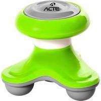 Mini Massageador Corporal Acte T150-Vr 3 Pontos De Contato Verde