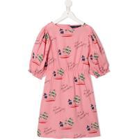The Animals Observatory Vestido Estampado - Rosa