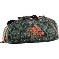 Bolsa Com Alça De Ombro Adidas Boxing Essential Camou 50L - Unissex