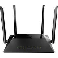 Roteador Wireless D-Link Gigabit-Ethernet Ac 1200Mbps, Dual Band, 4 Antenas - Dir-842