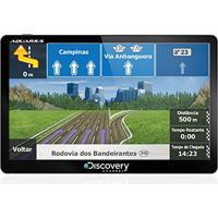 Gps Automotivo Discovery Channel Tela De 5 Slim Touch Screen Com Tv Digital