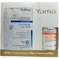 Pó Descolorante Ultra Rápido Yamá Proteínas Do Leite Refil 20G + 1 Oxicreme De 60Ml
