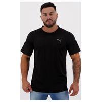 Camiseta Puma Ss Tech Tee Preta