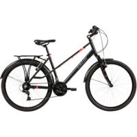 Bicicleta Caloi Urbam - Aro 26 - Freio V-Brake - Câmbio Traseiro Shimano - 21 Marchas - Preto
