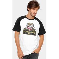 Camiseta Code Streetshirts Cerveza Masculina - Masculino-Branco+Preto