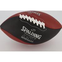 Bola De Futebol Americano Spalding Ast Marrom E Preta