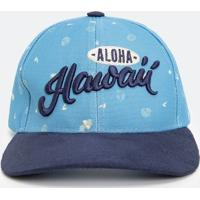 Boné Bordado Havaii Infantil - Tam U