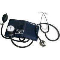 Aparelho De Pressão Premium Aneróide Com Estetoscópio Simples Adulto