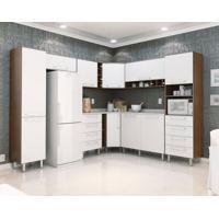 Cozinha Completa Evolution 10 Pt 8 Gv Branco E Tannat
