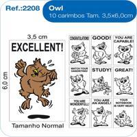 Carimbos Pedagógicos Owl - Fundamental - Kanui