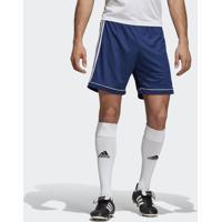 Shorts Futebol Adidas Squadra 17 Azul