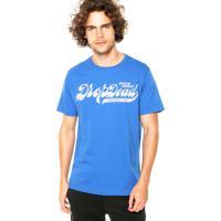Camiseta Drop Dead Refresh Azul