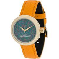 Marc Jacobs Watches Relógio Com Estampa De Rosto - Azul