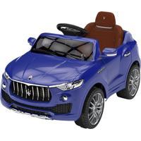 Carrinho 6 Volts Maserati Azul Xalingo