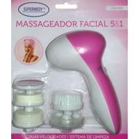 Massageador Facial 5 Em 1 Supermedy