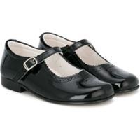 Andanines Shoes Sapatilha Com Detalhe De Fivela - Preto