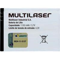 Bateria De Íon De Lítio Bl-4C Multilaser Bt001 - Padrão