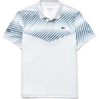 Polo Lacoste Sport Regular Fit Branco