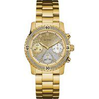 f055efa69a7 Relógio Guess Feminino Aço Dourado - W0774L5