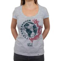 Queima Tudo - Camiseta Clássica Feminina