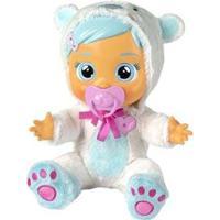 Boneca Kristal Cry Babies Que Chora Com Acessórios - Feminino-Branco
