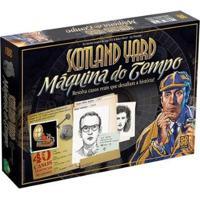 Jogo Scotland Yard - Máquina Do Tempo - Unissex-Colorido