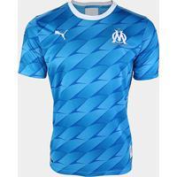 Camisa Olympique De Marseille Away 19/20 S/Nº Torcedor Puma Masculina - Masculino