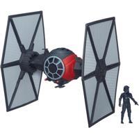 Veículo Com Mini Figura - Star Wars Vii - Tie Fighter E Piloto First Order - Hasbro - Disney - Masculino