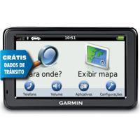 Gps Automotivo Garmin Nuvi 2415Lt 4,3 3D Dados De Trânsito Ao Vivo E Avisa Radar Preto