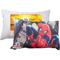 Kit Travesseiro + Fronha Homem Aranha