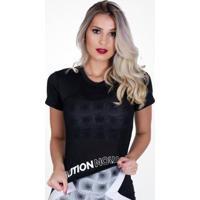 Camiseta Cvl Manga Curta Paloma Feminina - Feminino