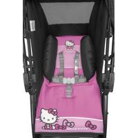Carrinho De Passeio Infantil Tutti Baby Hello Kitty Rosa E Preto