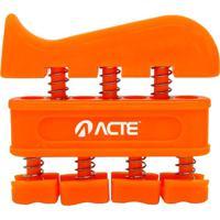 Hand Grip Master- Laranja- 8X8,5X2Cm- Acte Sportacte