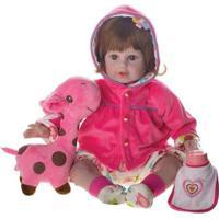 Boneca Laura Doll Baby - Bia - Shiny Toys - Feminino-Incolor