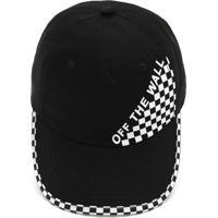 Boné Vans Checked Top Hat Preto