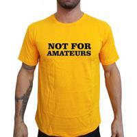 Camiseta Mma Shop Nao É Para Amadores - Masculino