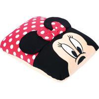 Almofada Minnie Mouse Disneyâ®- Vermelha & Preta- 28Xfom