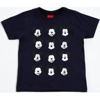 Camiseta Infantil Estampa Mickey Disney