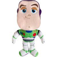 Pelúcia 30 Cm - Disney - Pixar - Toy Story 4 - Buzz - Dtc